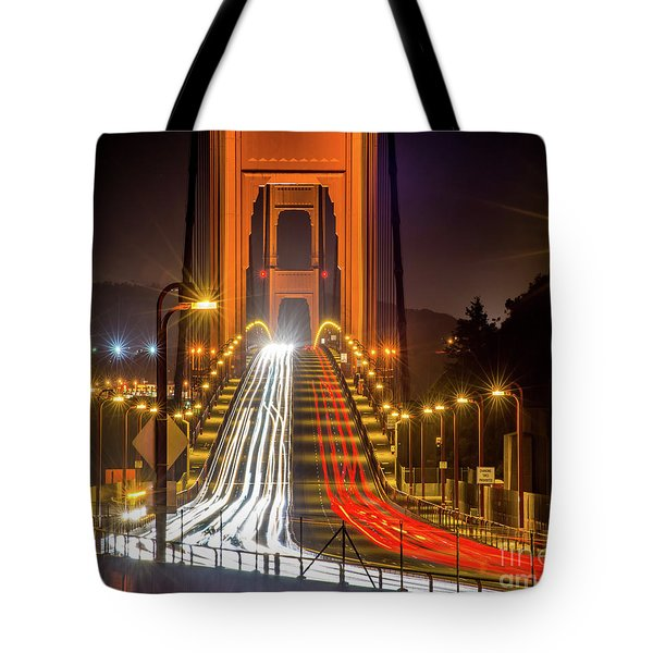 Golden Gate Traffic Tote Bag