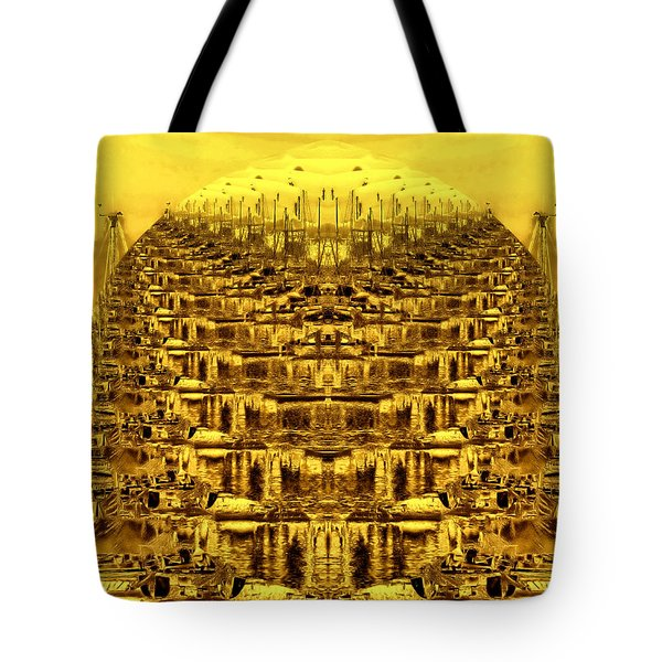 Golden Globe Tote Bag