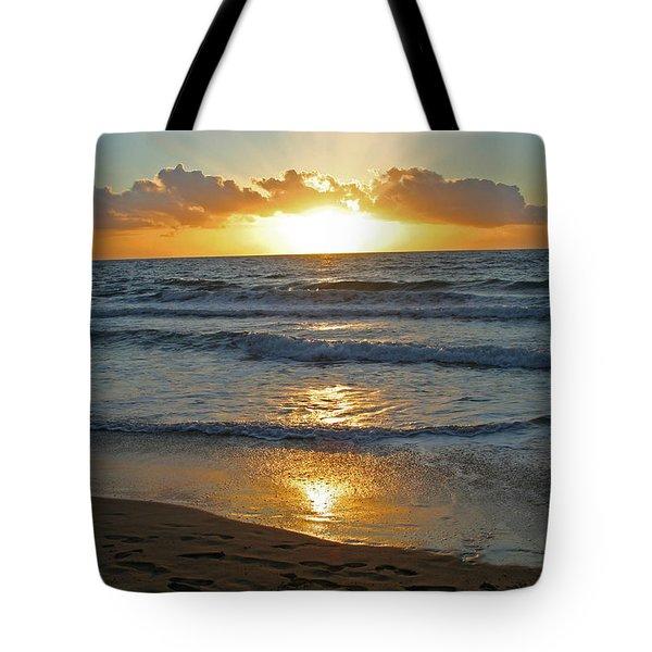 Golden Glory Tote Bag