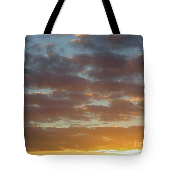Golden Glow Florida Sunset. Tote Bag
