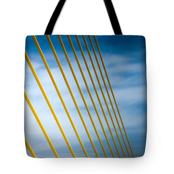 Golden Glow Of Tampa Tote Bag