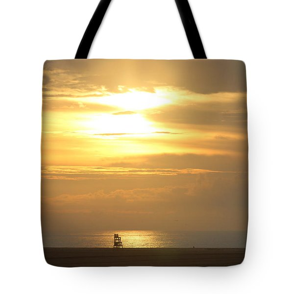 Tote Bag featuring the photograph Golden Glow by Robert Banach