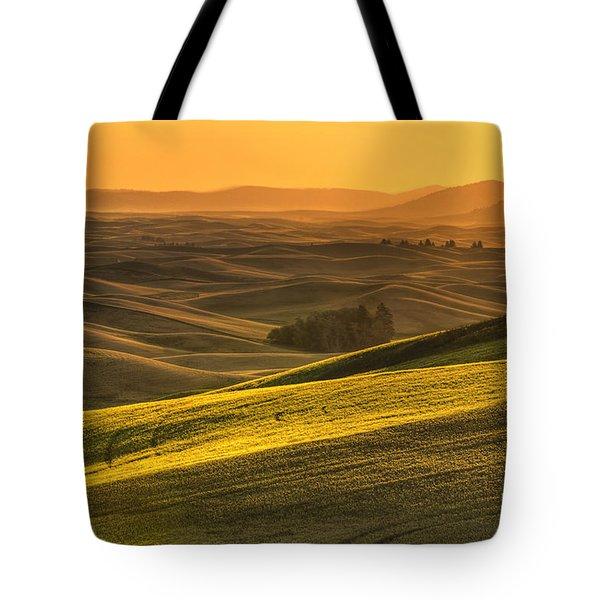 Golden Grains Tote Bag