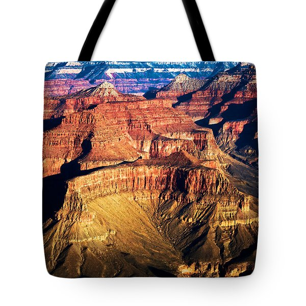 Golden Grand Canyon Tote Bag