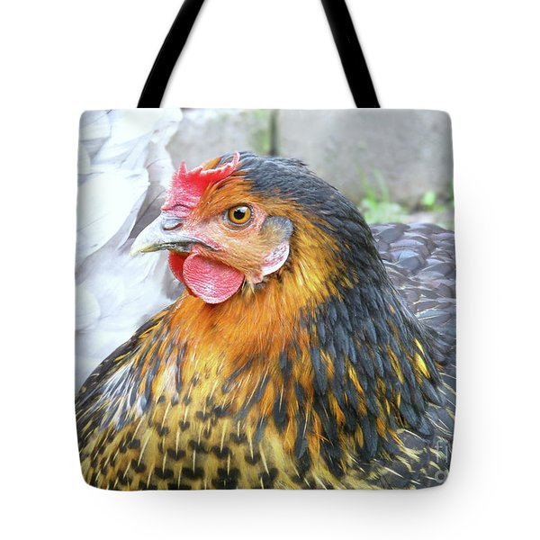 Golden Hen Tote Bag