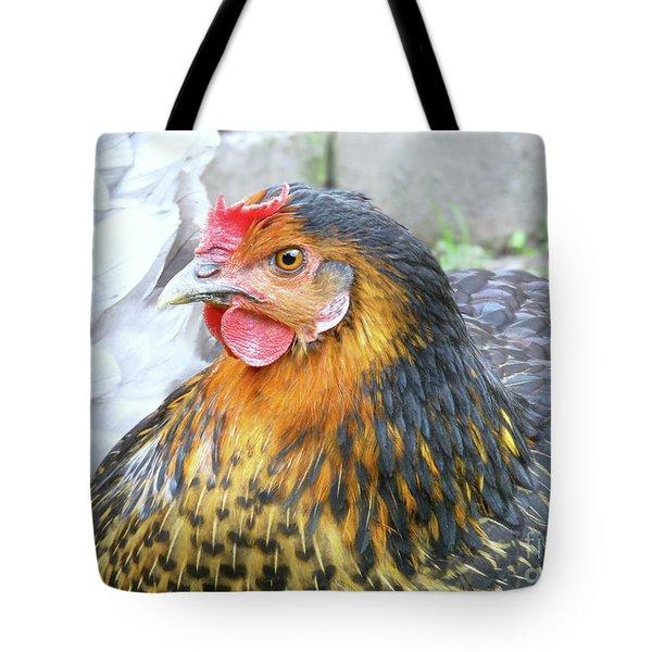Golden Hen Tote Bag