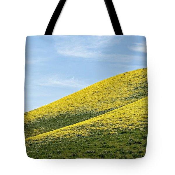 Golden Hills Of California Tote Bag