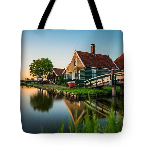 Golden Hour @ Zaanse Schans Tote Bag