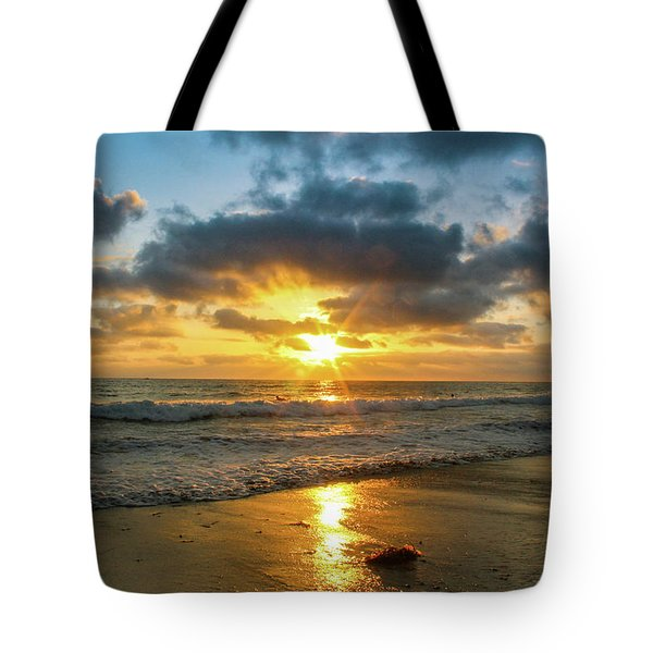 Golden Hour At Grandview Tote Bag