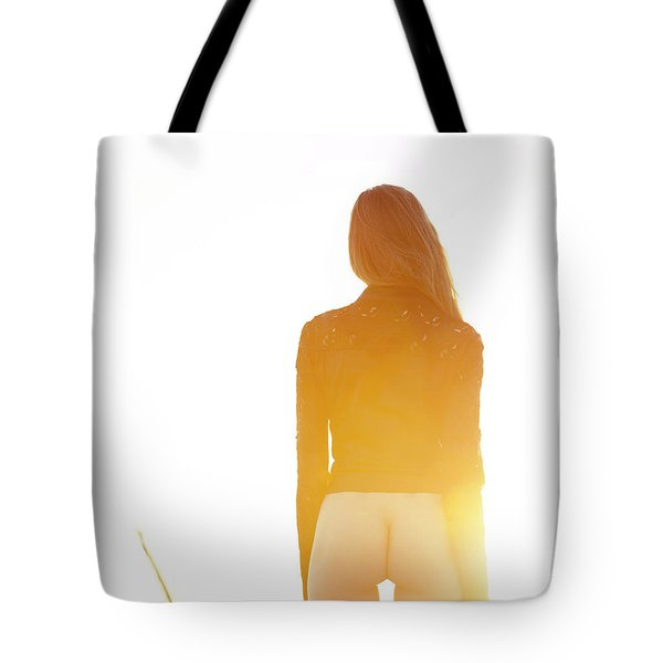 Golden Hour Girl Tote Bag
