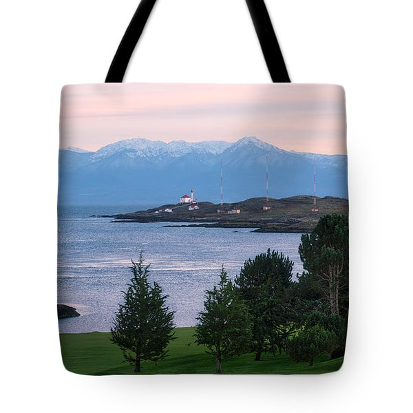Trial Island Sunset Tote Bag
