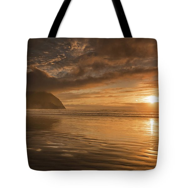 Tote Bag featuring the photograph Golden Hour by John Gilbert