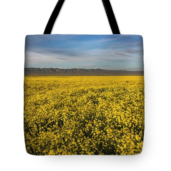 Golden Hour On The Plain Tote Bag