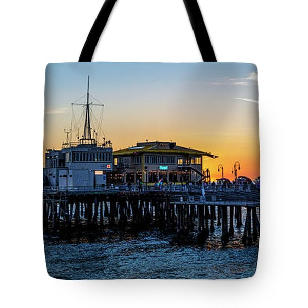 Golden Hour - Panorama Tote Bag