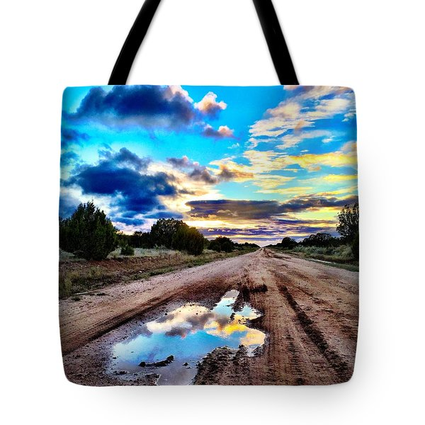 Golden Hour Pool Tote Bag