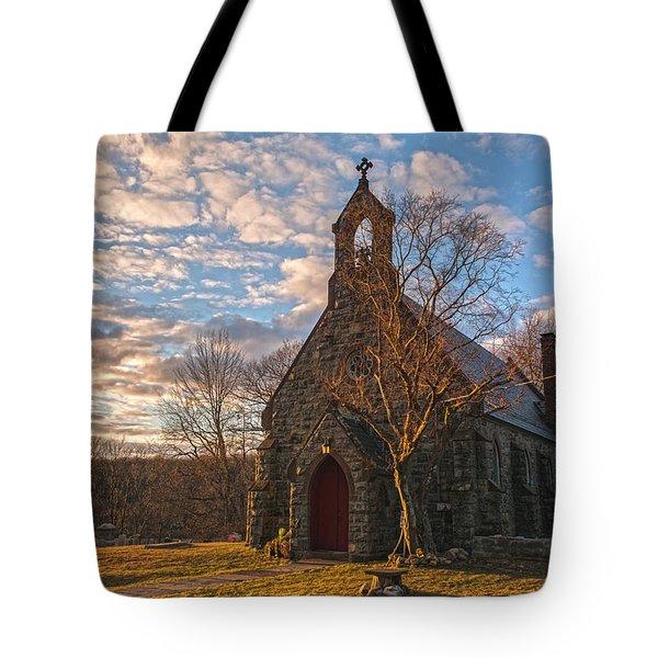 Golden Hour Prayer Service Tote Bag