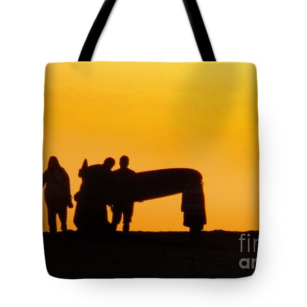 The Golden Hour Tote Bag by Rhonda Strickland
