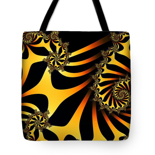 Golden Ladder To Nowhere Tote Bag