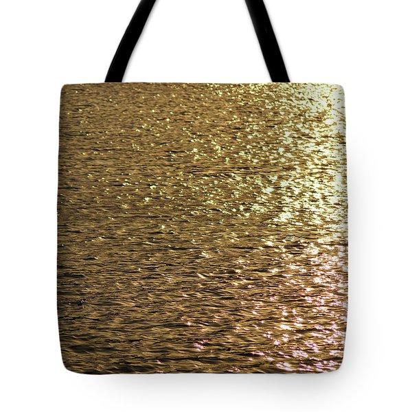 Golden Lake Tote Bag