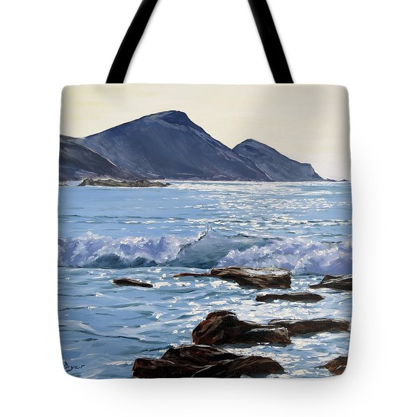 Golden Light At Crackington Haven Tote Bag