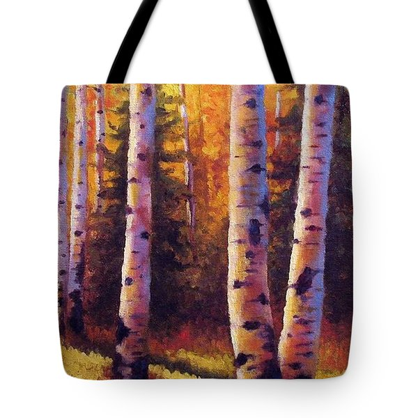 Golden Light Tote Bag by David G Paul