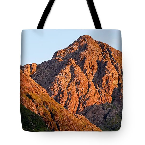 Golden Light Hits Bidean Nam Bian Tote Bag