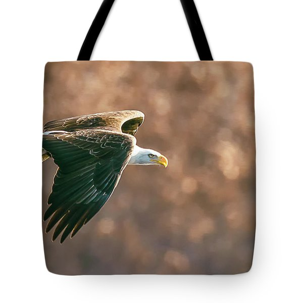 Golden Light Tote Bag by Kelly Marquardt