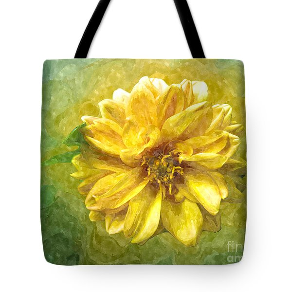 Golden Light Tote Bag