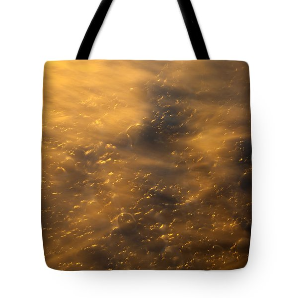 Golden Light Tote Bag by Mike  Dawson