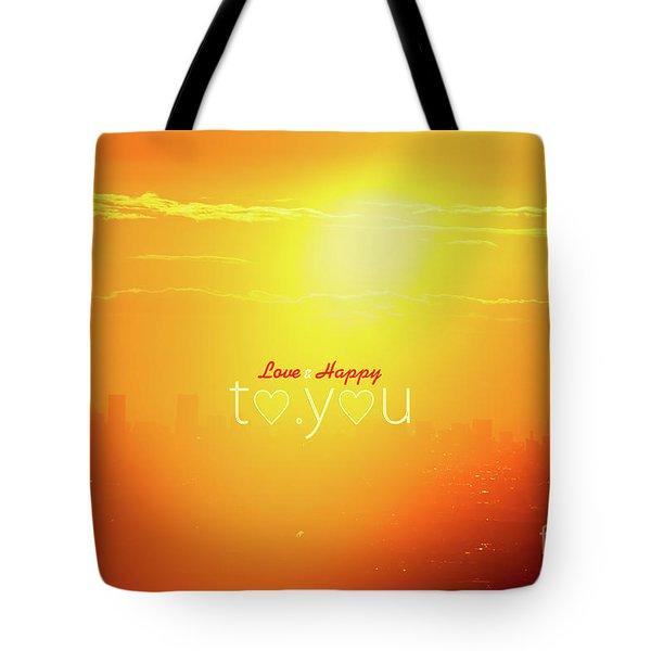 To You #002 Tote Bag