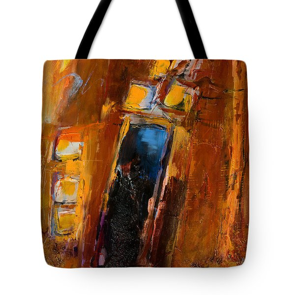 Golden Lights Tote Bag by Elise Palmigiani