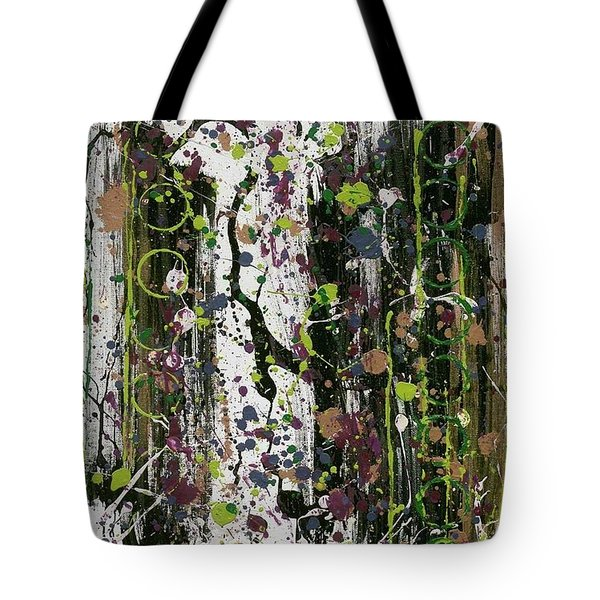 Golden Lime Royal Purple Dreams Tote Bag by Talisa Hartley