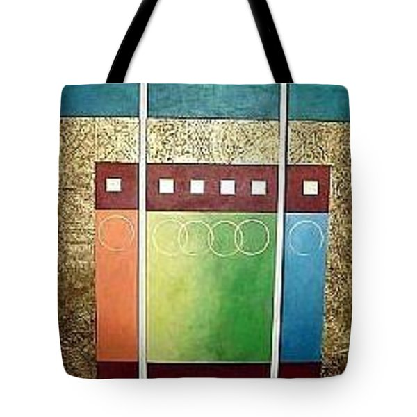 Golden Mesa Tote Bag by Bernard Goodman