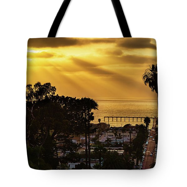 Tote Bag featuring the photograph Golden Moment by Dan McGeorge