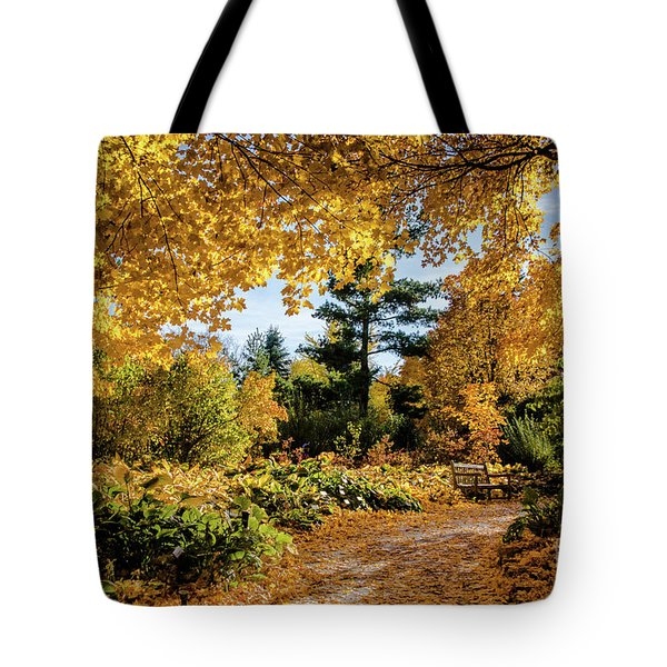 Golden Moment Tote Bag