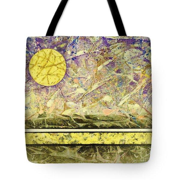 Golden Moon I Tote Bag