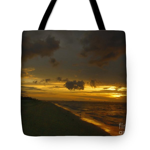 Golden Morning Tote Bag by Jeff Breiman