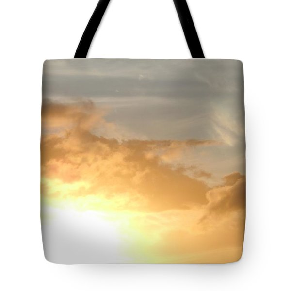 Golden Oahu Sunset Tote Bag