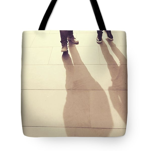 Tote Bag featuring the photograph The Golden Path by Rebecca Harman