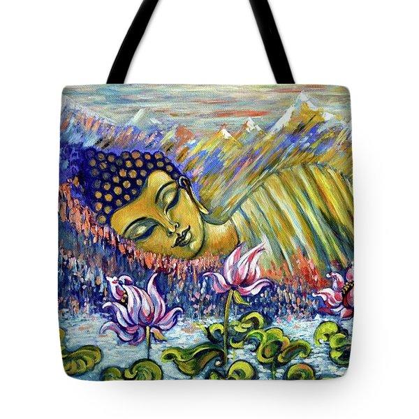 Golden Peace Tote Bag