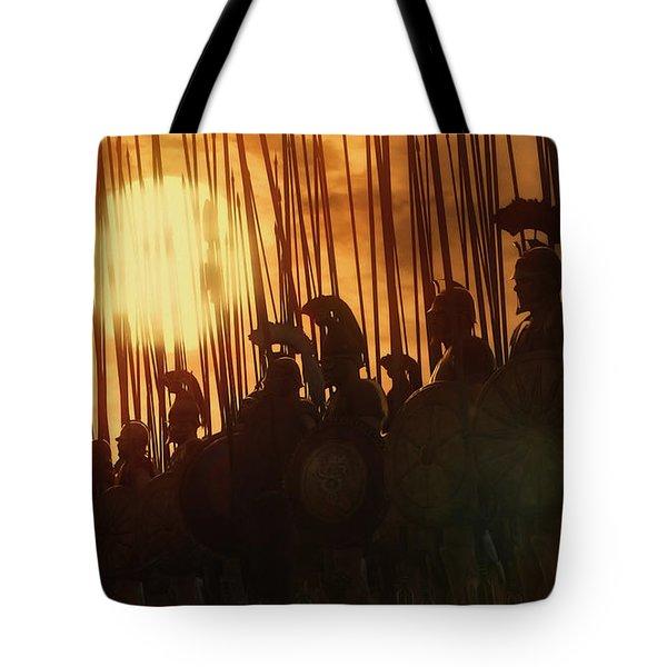 Golden Phalanx - 01  Tote Bag