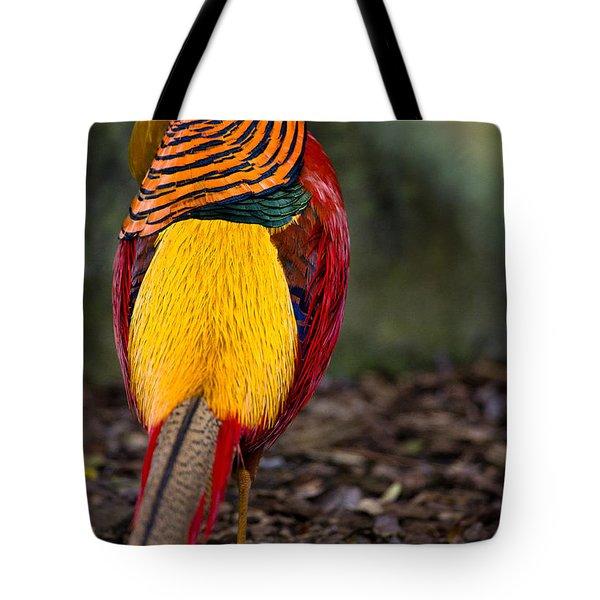 Golden Pheasant Tote Bag