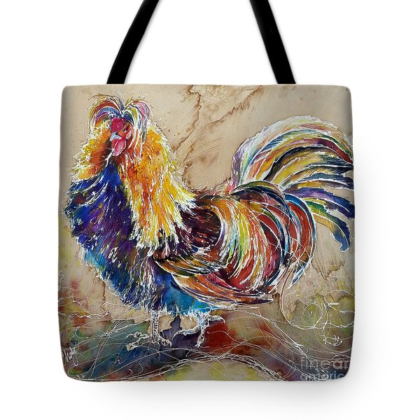Golden Polish Chicken Tote Bag