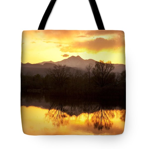 Golden Ponds Longmont Colorado Tote Bag