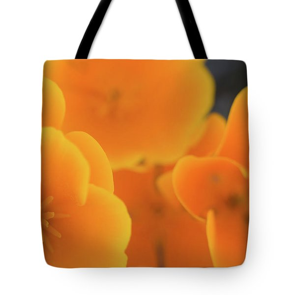 Tote Bag featuring the photograph Golden Poppies by Roger Mullenhour