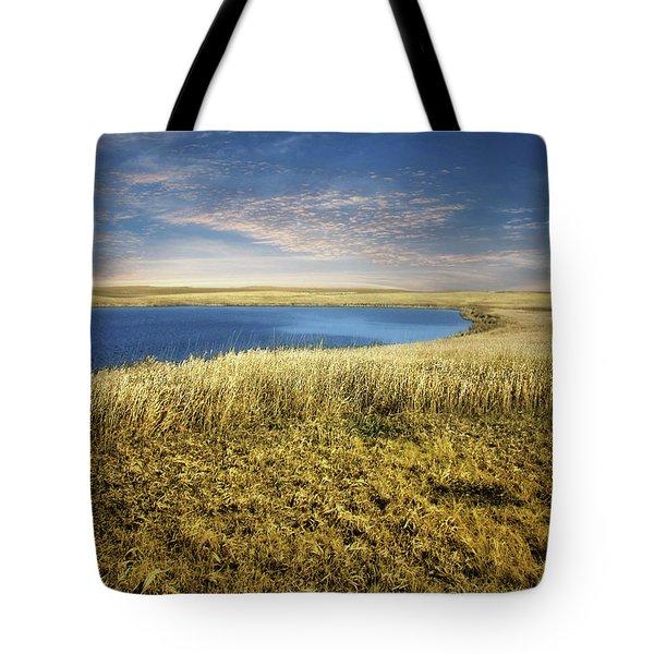 Golden Prairie Tote Bag