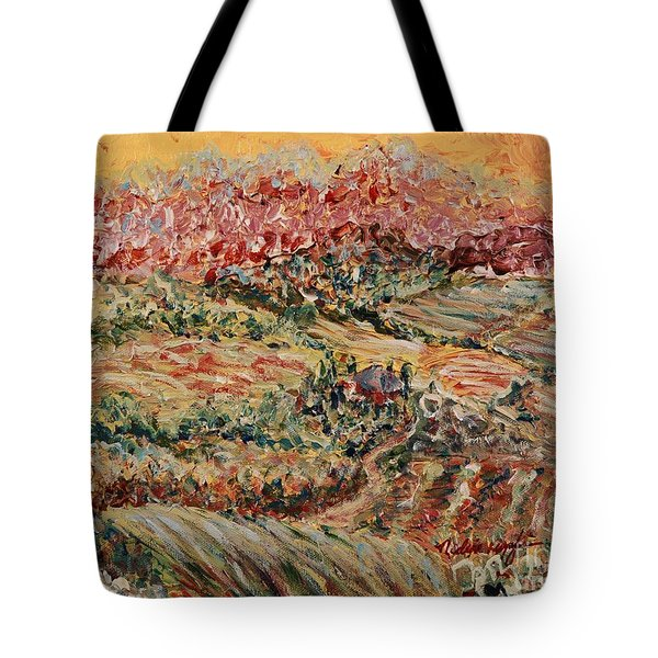 Golden Provence Tote Bag by Nadine Rippelmeyer