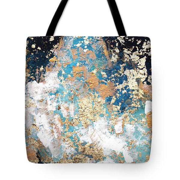 Golden Rain Tote Bag