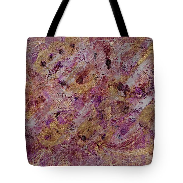 Golden Rapture Tote Bag