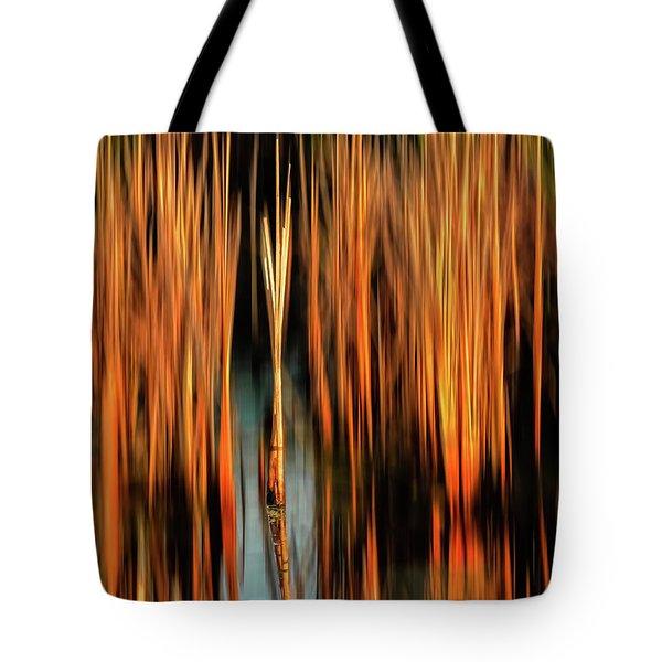 Golden Reeds Tote Bag